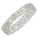 Beautiful Diamond Bracelets 8.00 Ct Natural Diamond solid Gold Natural Certified